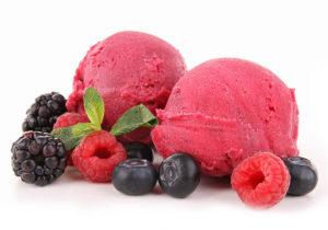 sorbets fruits rouges haute-savoie