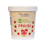 sorbet plein fruits fraise